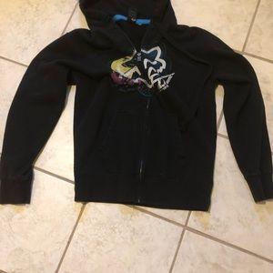 Fox hoodie jacket
